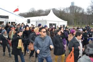 Flashmob at PMI