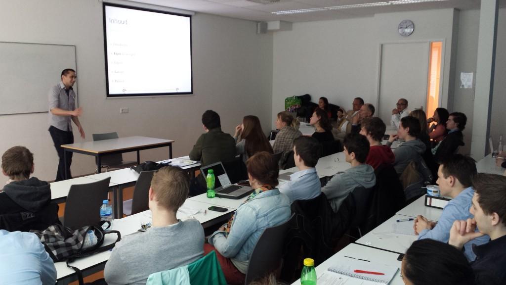 INYS guest lecture at Hogeschool Leiden