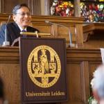 Vicepresident Boediono in Leiden – Photo by Monique Shaw