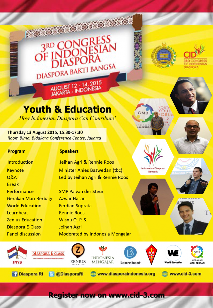 Youth & Education at CID3 - 13 August 2015